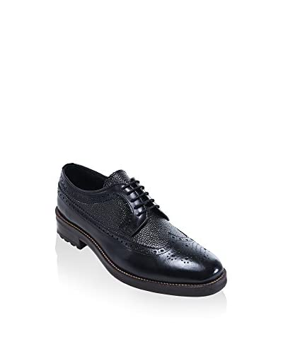 BRITISH PASSPORT Zapatos derby Wing Cup Negro