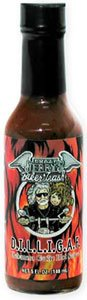 Crazy Jerrys Biker Trash Dilligaf Habanero Garlic Hot Sauce from Crazy Jerry