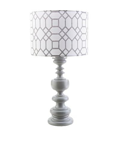 Surya Wilson Outdoor Table Lamp, Gray