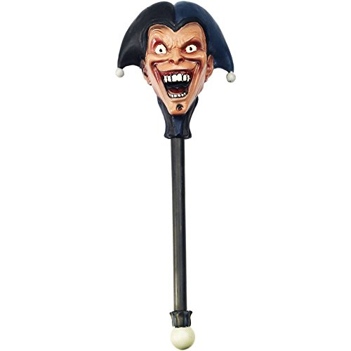 Twisted Circus Jester Staff - One Size
