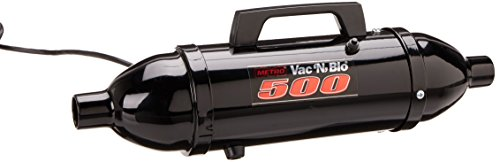 MetroVac Black Powder Coated High Performance Hand Vac with Turbo Driven Rotating Brush, 120-Volt (Handheld Premium Pet Turbo Brush compare prices)