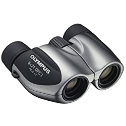 Olympus PCIII 8X21 Binocular (Black/Silver)