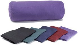 YogaAccessories-TM-Cover-for-Round-Cotton-Yoga-Bolster-Cardinal-Red