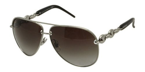 Gucci Gucci 4225 BGY Ruthen Black 4225 Aviator Sunglasses Lens Category 3