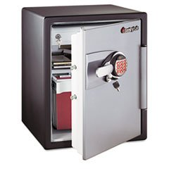 Sentry OA5848 2-Cubic Feet Electronic Tubular Key Fire Safe, 211-Pound, Black/Gunmetal Gray (Safe 2 Cubic Feet compare prices)