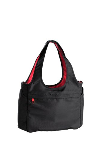 Vital Innovations / Okiedog Sac à Langer - 2 in 1 Tote Bag - Special Edition - Noir/rouge