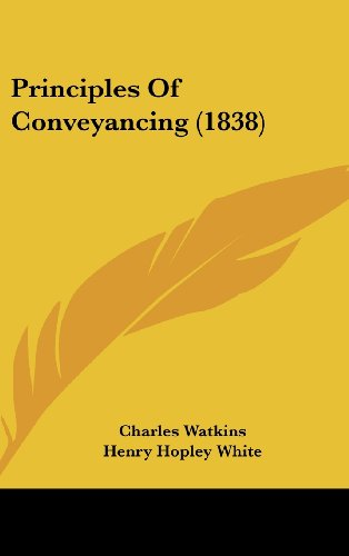 Principles of Conveyancing (1838)