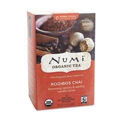 Organic Tea, Rooibos Chai, 18/Box