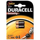 Duracell MN21 Battery Car Alarm / Transmitter Batteries [Pack 2]