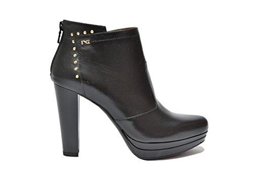 Nero Giardini Polacchini scarpe donna nero 3622 elegante A513622DE 40