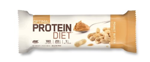 Optimum Nutrition Complete Protein Diet Bar, Chocolate Peanut Butter, 15 Bars / box