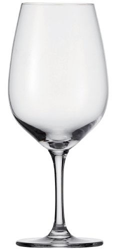 Schott Zwiesel Tritan Crystal Glass Congresso Stemware Collection Bordeaux Red Wine Glass, 20.9-Ounce, Set of 6 (Titanium Crystal Wine Glasses compare prices)