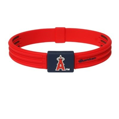 PHI-TEN MLB Authentic Bracelet, Oakland Athletics, Large (7.5 Inches)