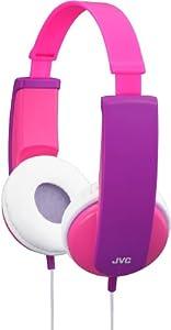 JVC HA-KD5-P-E Kopfhörer (85dB) für Kinder purple