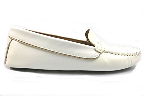 scarpe donna HARMONT & BLAINE 36 mocassini bianco vernice AS896