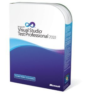 Visual Studio Test Professional with MSDN Renewal (Old Version)