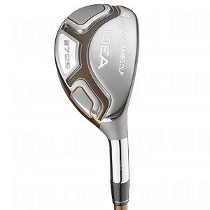 Adams Golf A7OS Hybrid (Ladies, Left Hand, 4, Grafalloy Ladies Flex Shaft)