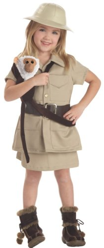Todd SZ 3-4T Girl Zookeeper Costume (Boots not included)