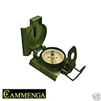 417 Official U.s. Military Tritium Lensatic Compass (model 3h) by Cammenga
