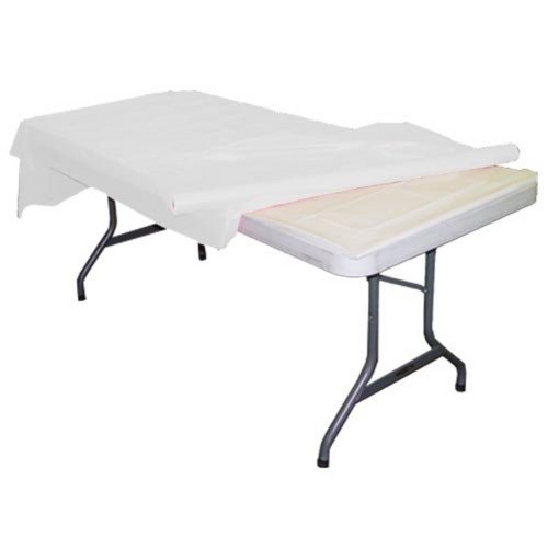 TEKTRUM 4-Feet Long Fitted Table DJ Jacket Cover for Trade Show-Heavy Duty-Black