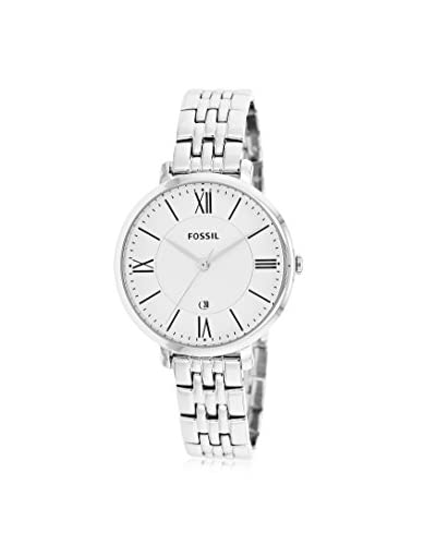Fossil Women's ES3433 Jacqueline Three-Hand Stainless Steel Watch - Silver-Tone