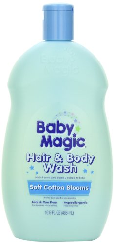 Baby Magic Hair and Body Wash with Soft Cotton Blooms, 16.5 Ounces