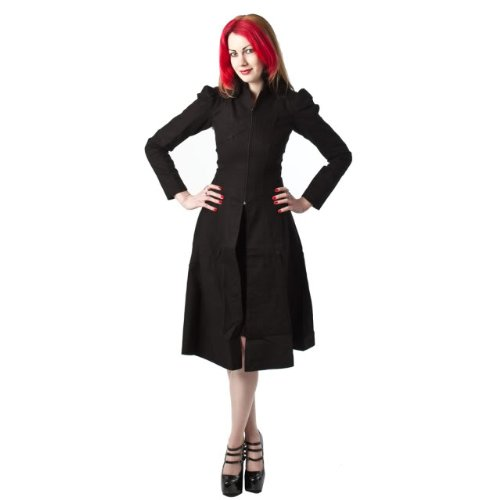 Minerva Gothic Ladies Twill Coat - X-Large
