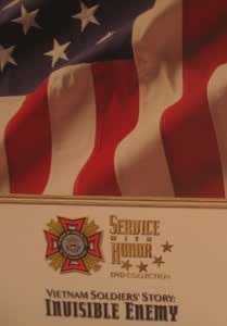 Service With Honor: Vietnam Soldier's Story Invisible Enemy (DVD)