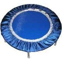 Needak Rebounder - R20-Non-Folding Soft Bounce Platinum Blue Edition Trampoline