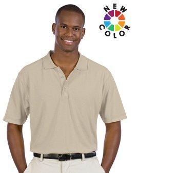 Men'S 5.6 Oz. Pique Knit Sport Shirts - By Fashion Destination