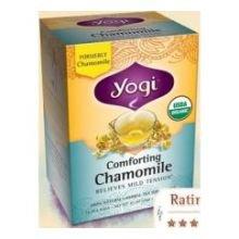 Yogi Tea Co Organic Comforting Chamomile Herbal Tea - 16 Bags Per Pack -- 6 Packs Per Case.