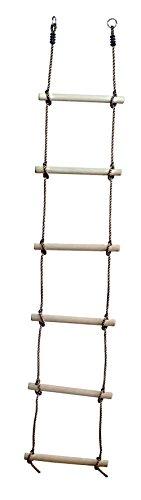 Garden Games - Escaleras de cuerda con fijación