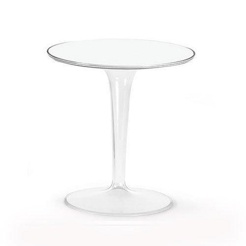 Kartell 425603 Tisch TopTop weiß glänzend