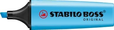 pack-of-3-blue-stabilo-boss-highlighters-fluorescent-colours-water-based-ink