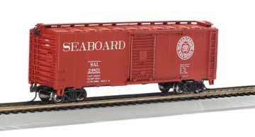Bachmann Trains Seaboard (Through the Heart of Dixie) 40' Box Car