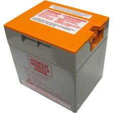 Power Wheels 00801-1661 12 Volt Battery, Orange Top