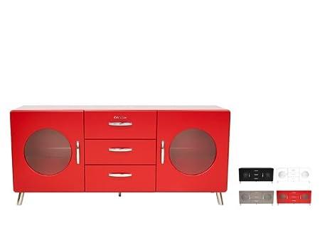 COBRA Sideboard 4933 Schrank, Farbe:Weiß