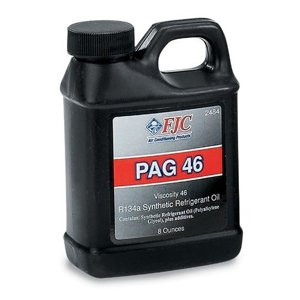 One Bottle 8oz Refrigerant Oil FJC PAG 46 A/C R134a Oil