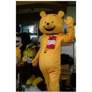 2012 new Winnie The Pooh cartoon Character Costume