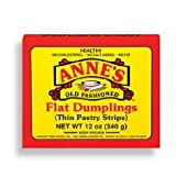 Anne's Flat Dumplings (Thin Pastry Strips) 12 Oz (12 boxes in Case) by Anne's Old Fashioned Food Products