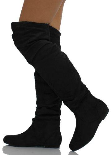 Fantastic Black Suede Desert Boots