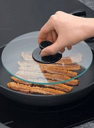 Tempered Glass Bacon Press