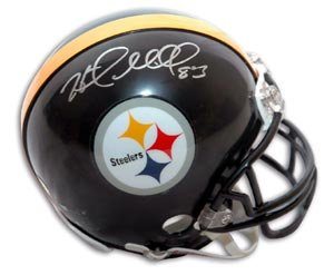 Heath Miller Signed Steelers Mini Helmet