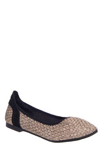 Bernie Mev Diamond Ballerina Flat Shoe