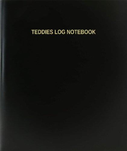 BookFactory® Teddies Log Notebook - 120 Page,