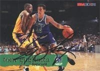 Tom Gugliotta Minnesota Timberwolves 1995 Hoops Autographed Hand Signed Trading Card. by Hall+of+Fame+Memorabilia