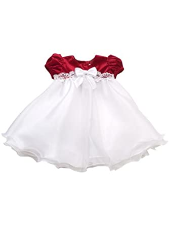 Amazon Rare Editions Baby Girls Infant Wire Hem Dress