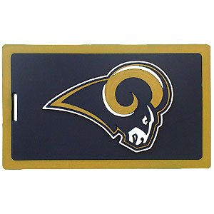 Nfl Luggage Tag - St. Louis Rams Nfl Luggage Tag - St. Louis Rams
