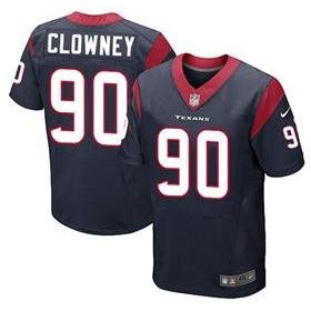 Jadeveon Clowney Texans Blue On Field Jersey Size 52 XX-Large by ON-FIELD