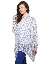 XnY Batwing Printed Shirt
